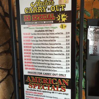 Anita S New Mexican Restaurant Ashburn