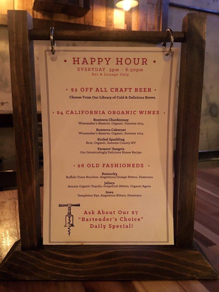 Menu Happy Hour Drinks Yelp