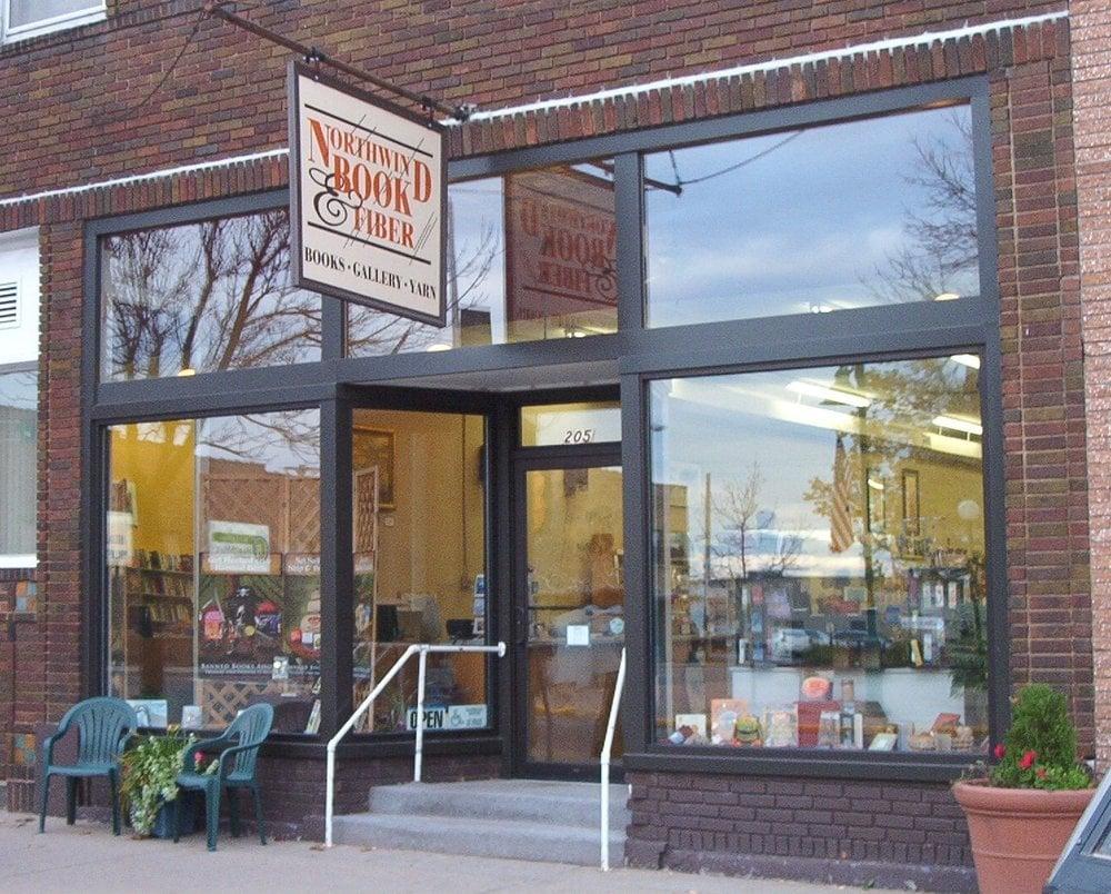 Northwind Book & Fiber: 205 Walnut St, Spooner, WI