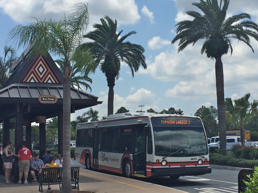 Disney's Polynesian Resort Bus Stop: Polynesian Dr, Bay Lake, FL