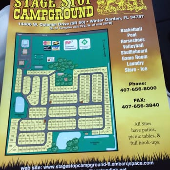 Stage Stop Campground - RV Parks - 14400 W Colonial Dr, Horizons ...