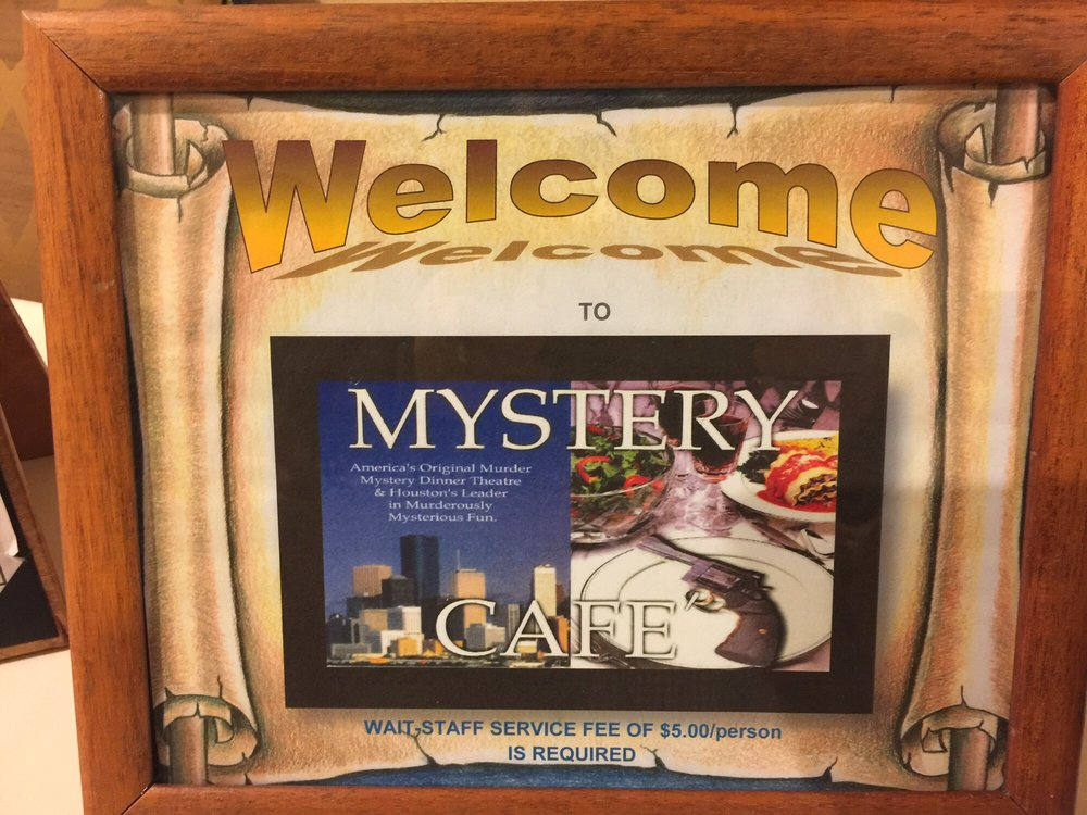 Mystery Cafe Houston Reviews