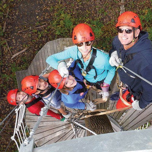 Lake Geneva Canopy Tours & Outdoor Adventure Center