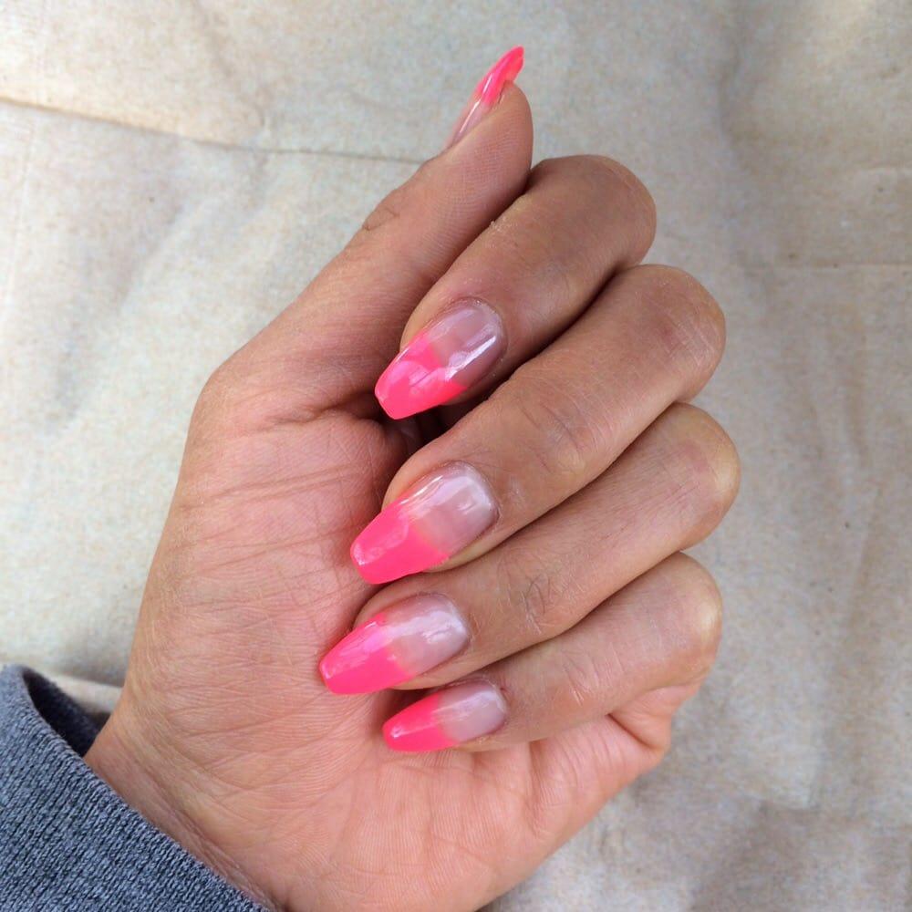 Narrow nails. Refill by ann. DNG gel: \