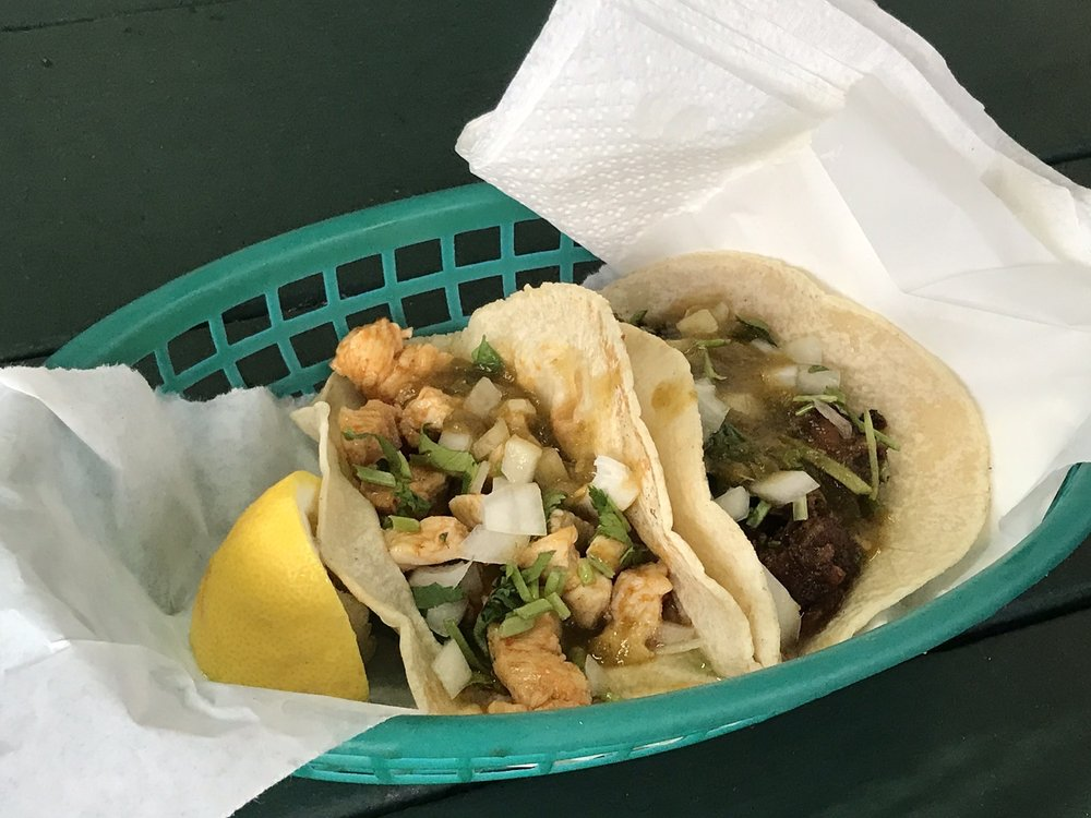 Food from Taco Stand