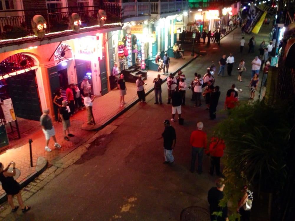 From The Bourbon Street Balcony From Embers Yelp