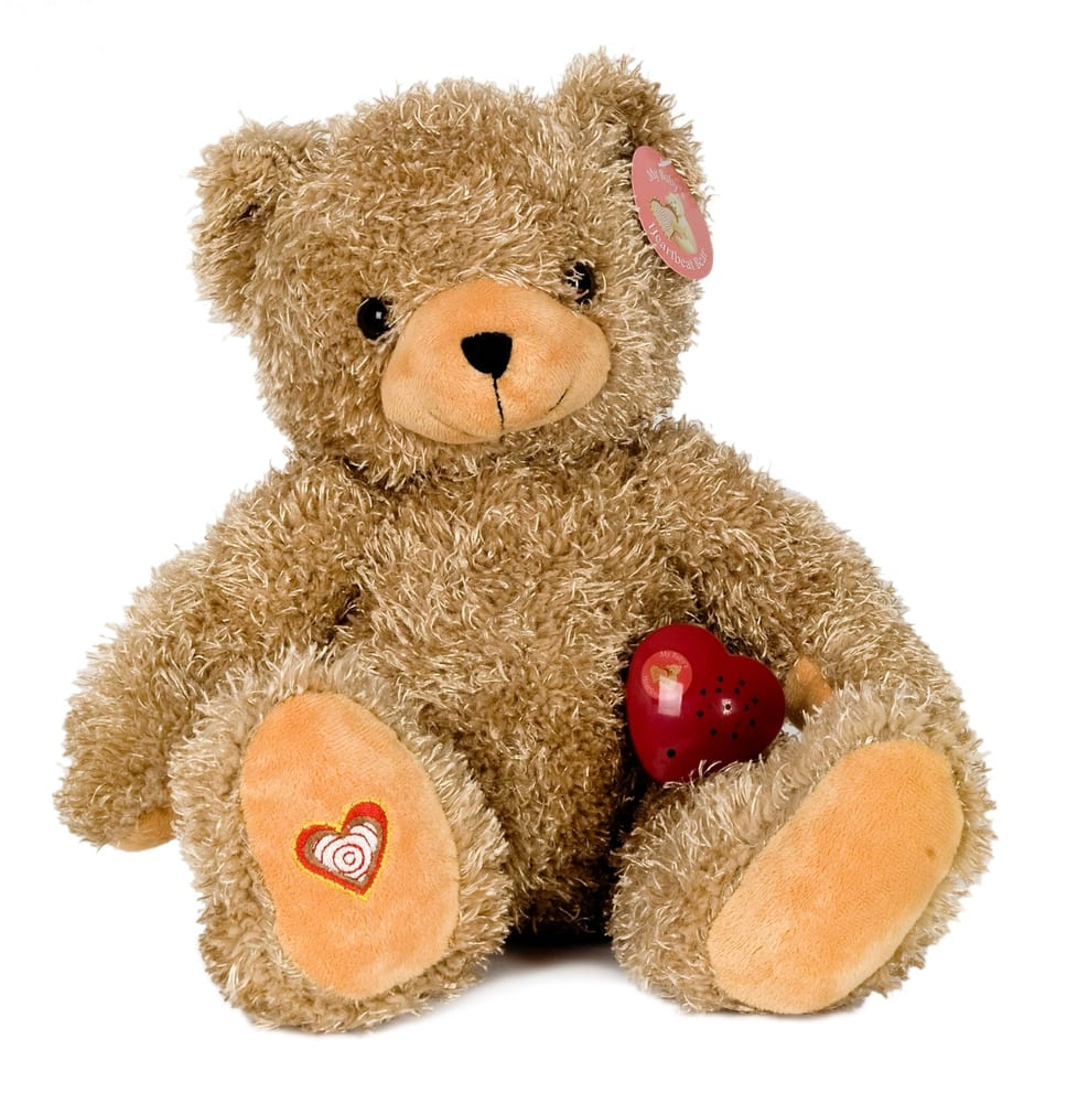 Heart Beat Teddy Bear With Your Baby S Heart Beat Recorded