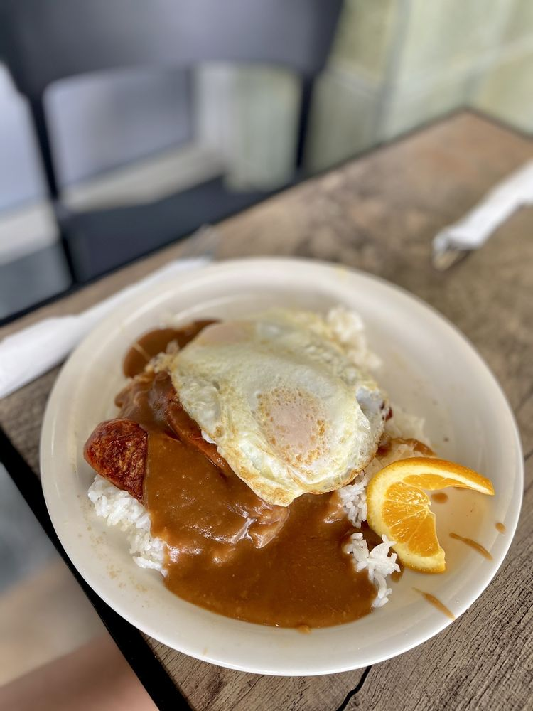 Aloha Stacks Island Style Eats: 11461 South St, Cerritos, CA