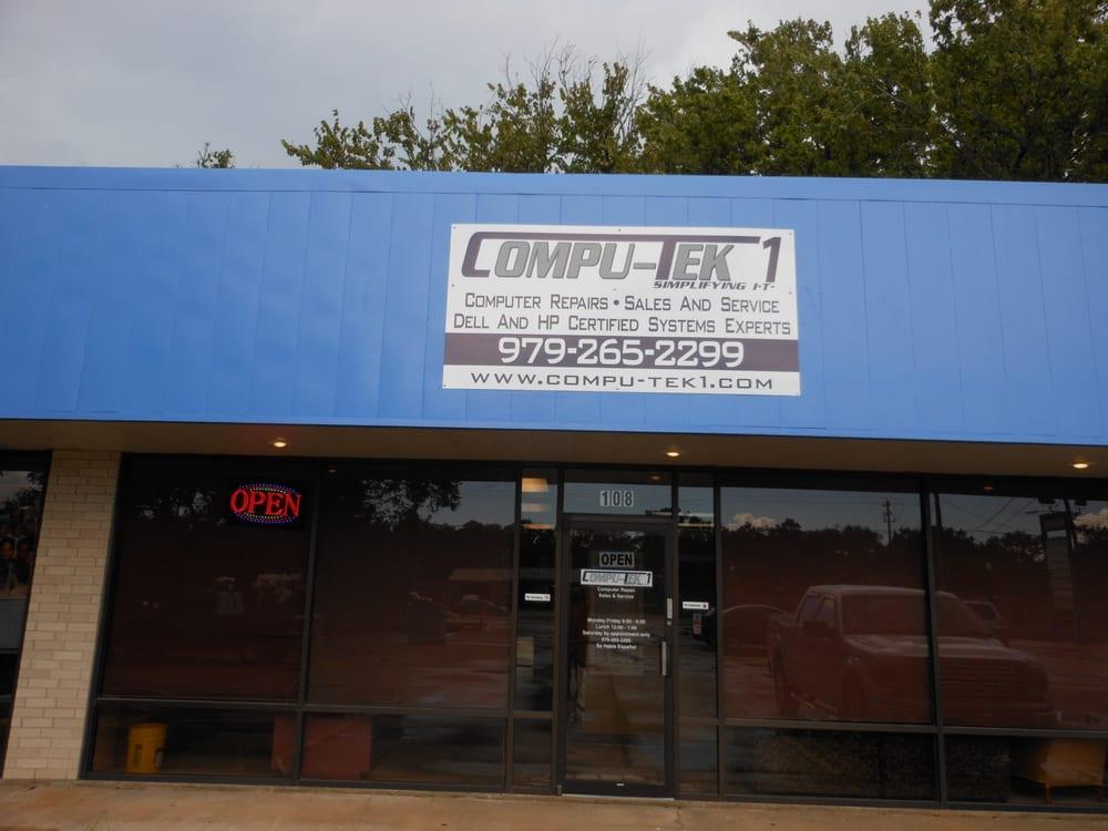 Compu-Tek1: 716 W Plantation Dr, Clute, TX