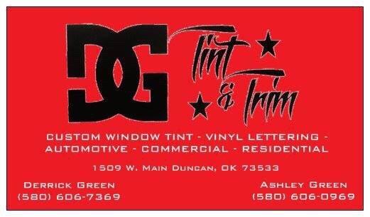 Dg Tint and Trim: 1509 W Main St, Duncan, OK