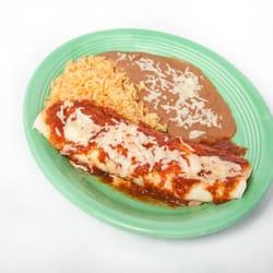 Photo Of Las Palmas Mexican Restaurant Hermitage Tn United States Lunch Burrito