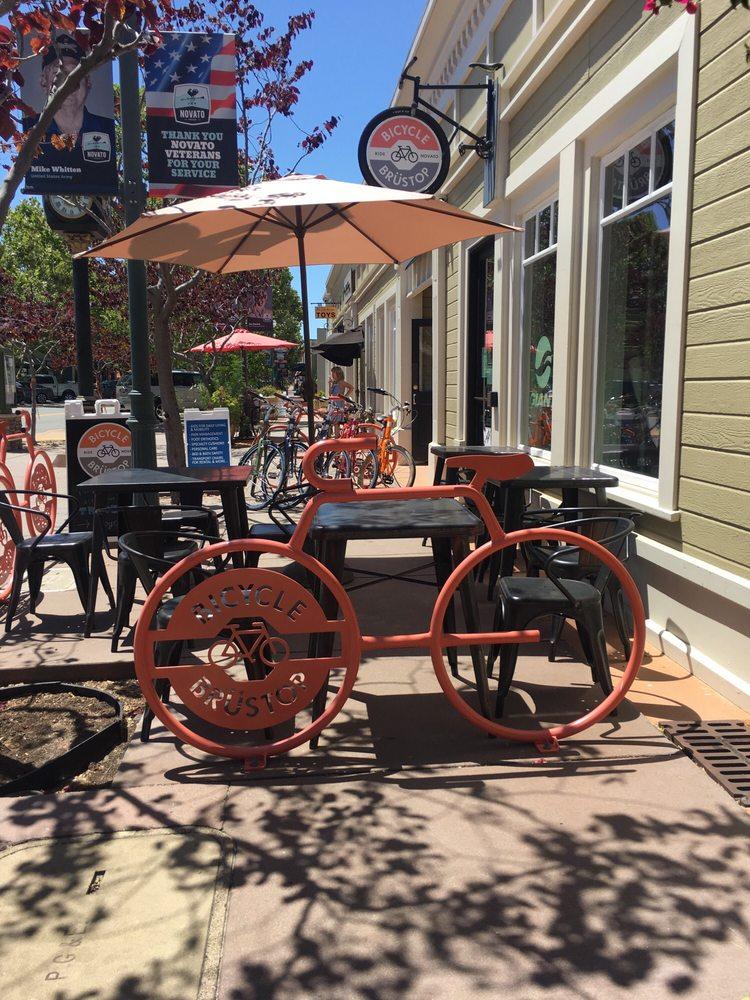 Bicycle Brüstop: 830 Grant Ave, Novato, CA