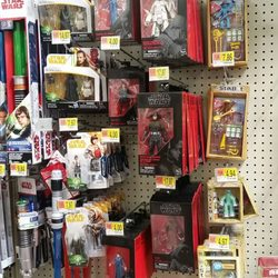 9090082c Photo of Walmart Supercenter - Montgomery, AL, United States. Star Wars  figures.