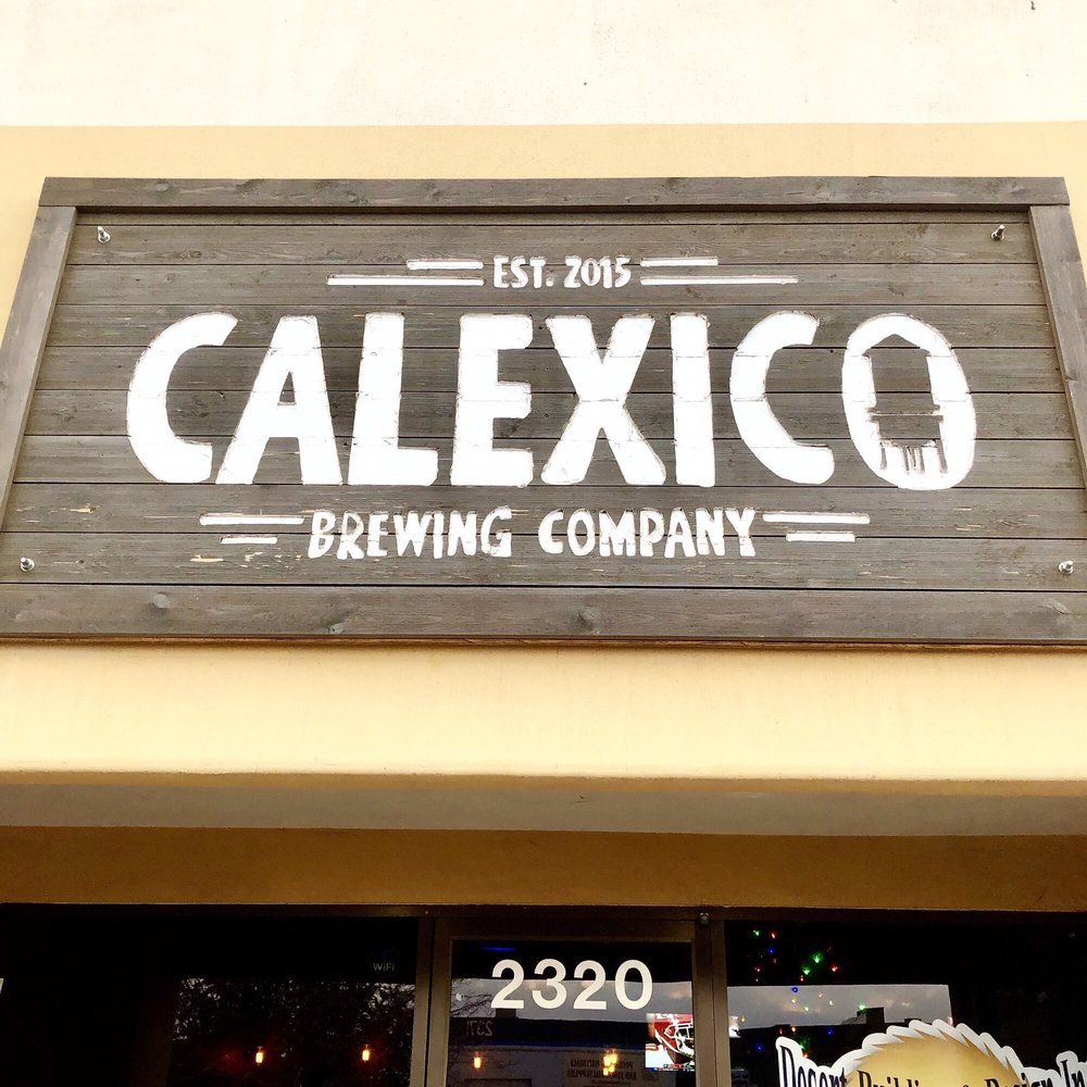 Calexico Brewing Company: 2320 M L King St, Calexico, CA