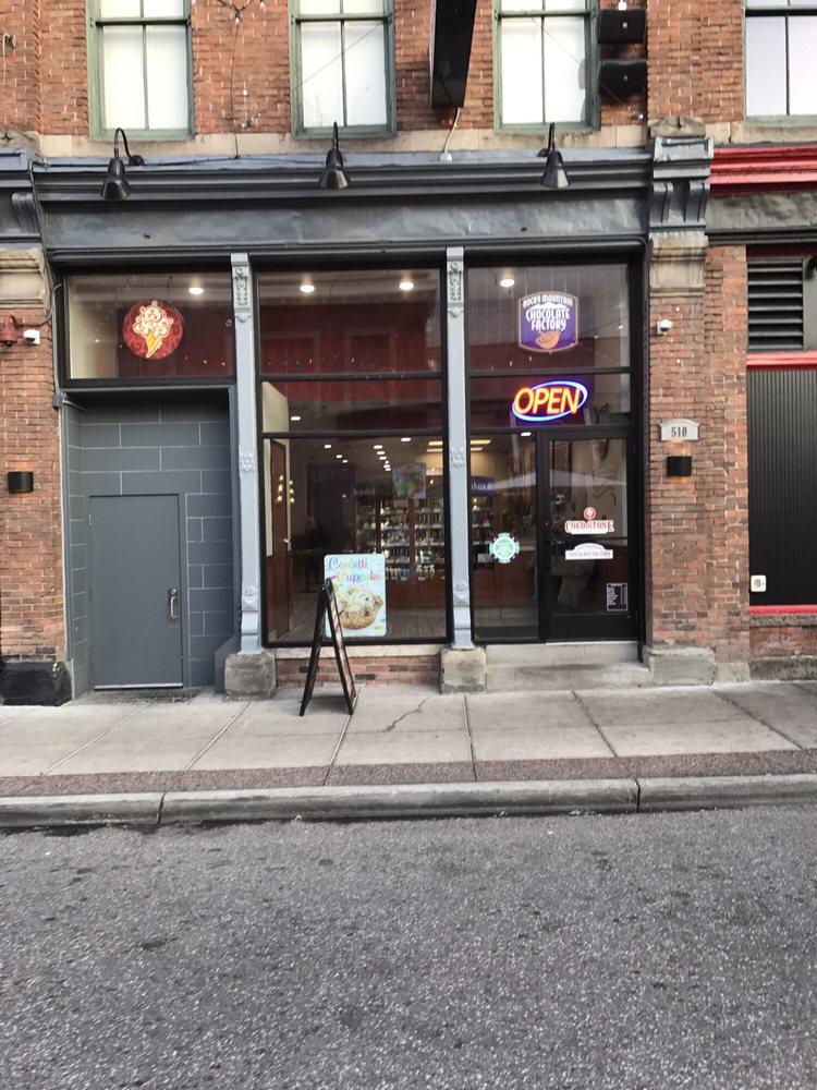 Cold Stone Creamery: 510 Monroe St, Detroit, MI