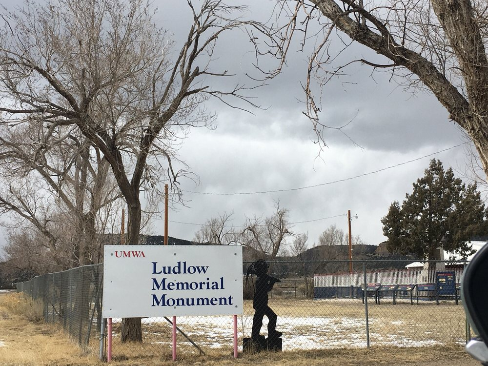 Ludlow Memorial Monument: Ludlow, CO