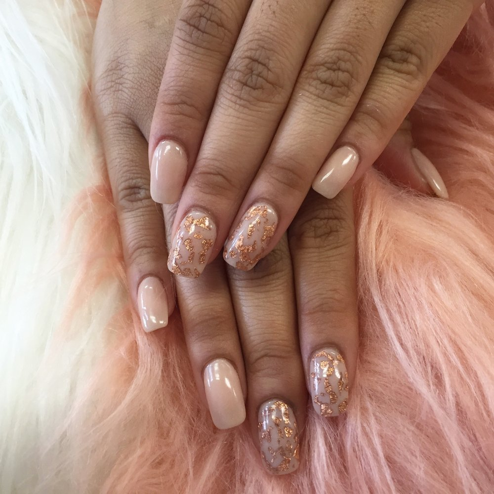 Rose gold foil flakes! - Yelp