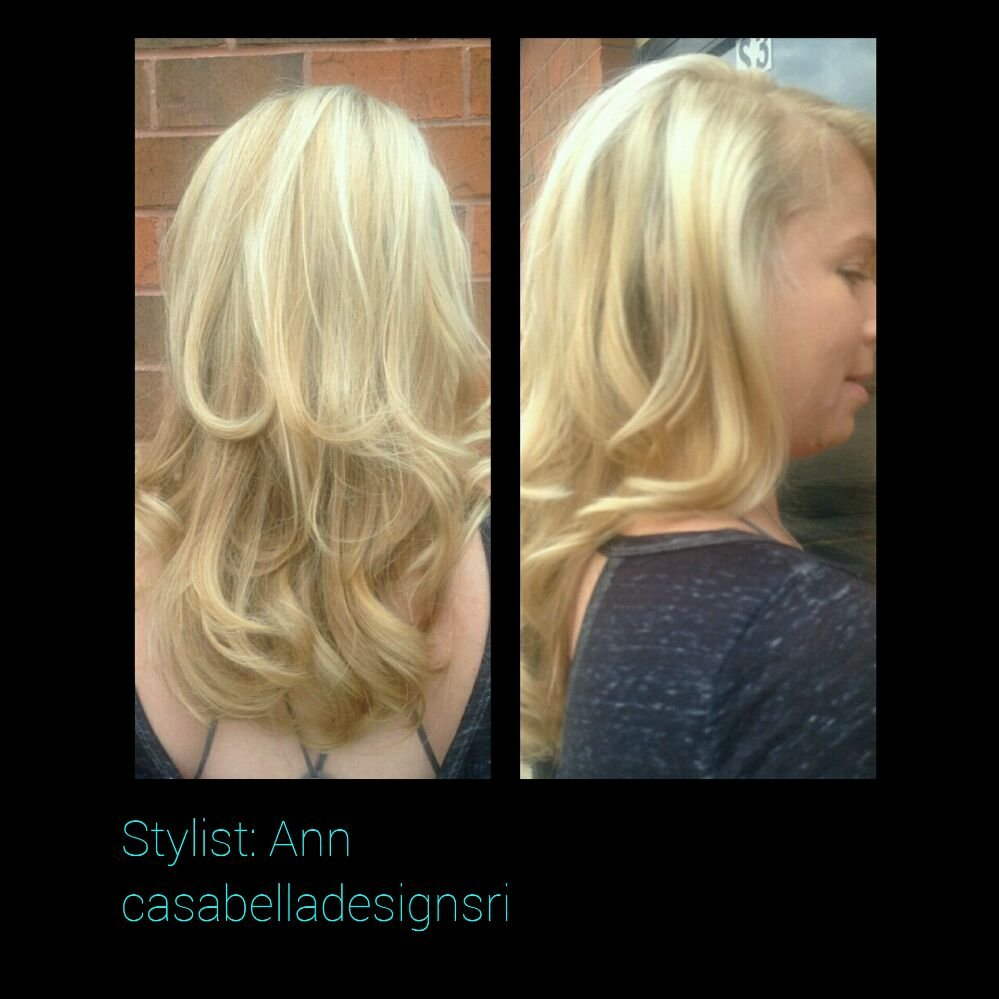 Dimensional Blond Balayage Done By Ann Yelp
