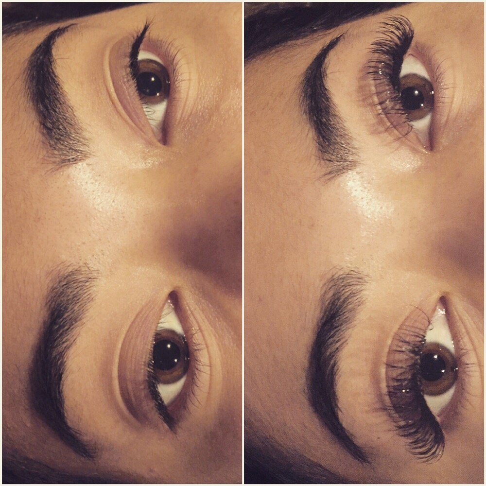 Lash Extensions Before And After Yelp