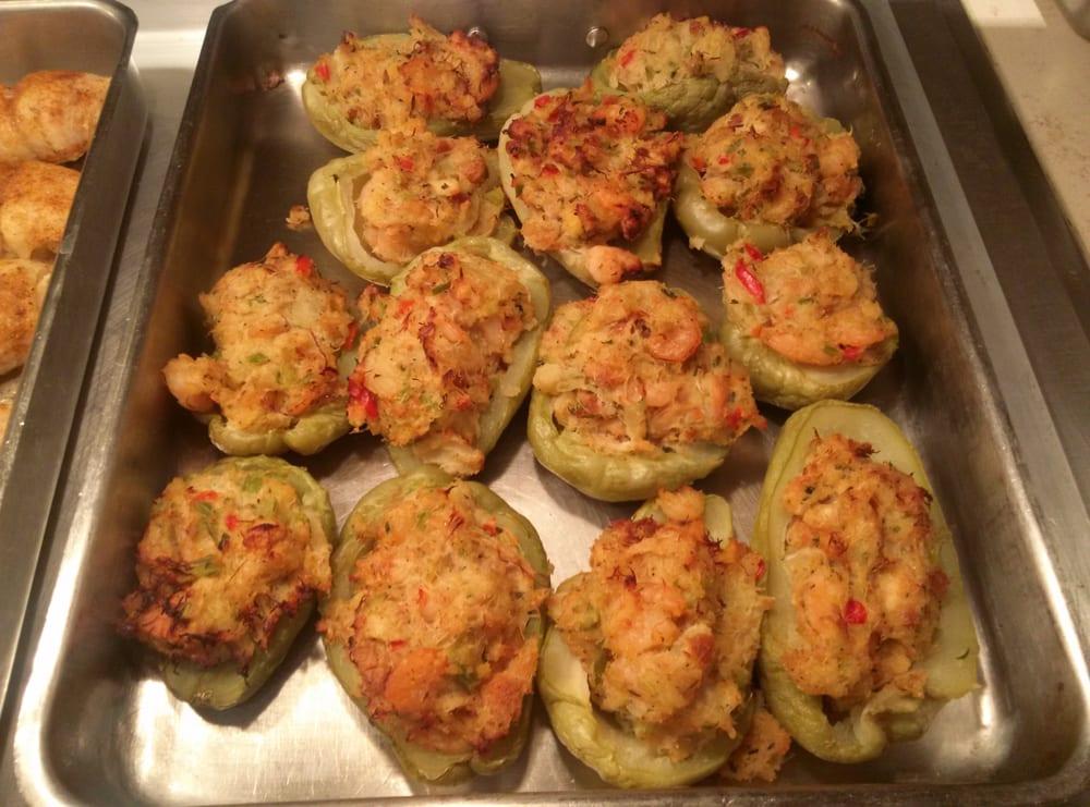 crawfish stuffed chayote the buffet at harrahs nola yelp rh yelp com harrah's new orleans buffet coupon harrah's new orleans buffet menu