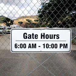 Photo Of Weipertu0027s RV Storage   San Luis Obispo, CA, United States. Gate