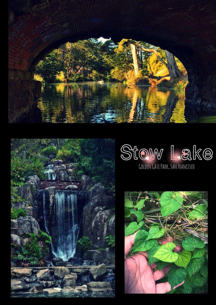 Stow Lake Waterfalls & Park