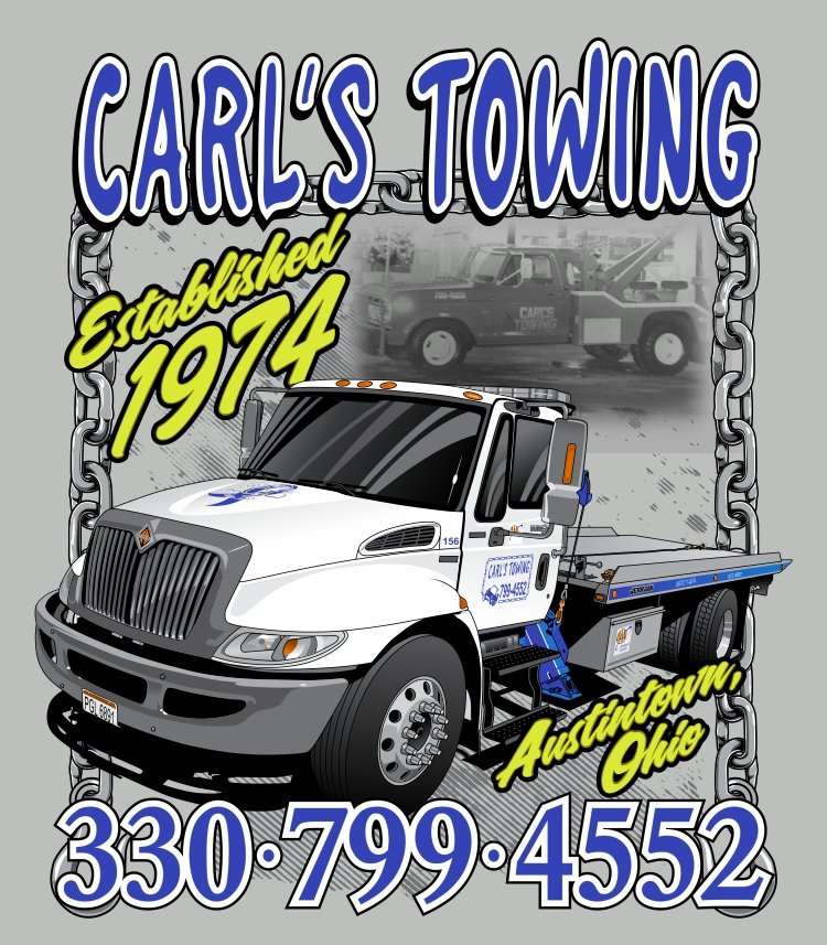 Carl's Towing & Road Service: 6704 Mahoning Ave, Youngstown, OH