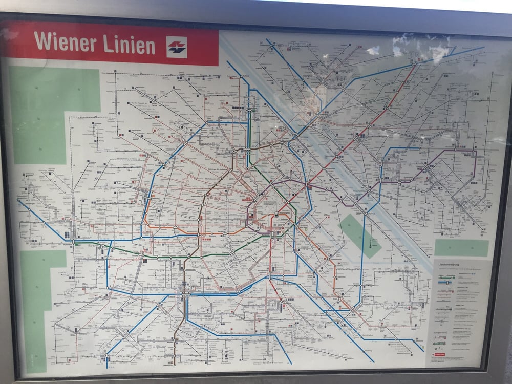 Wiener Linien 21 Beiträge Gewerbliche Dienstleistung