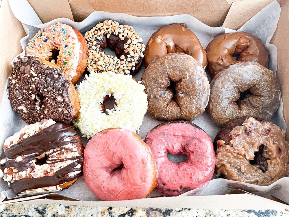 Food from Lonny C's Donuts