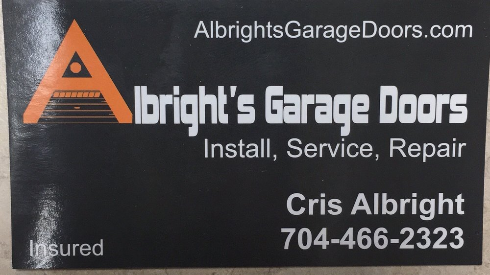 Albright's Garage Doors: Kings Mountain, NC