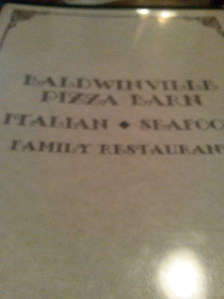 The Pizza Barn: 9 Central St, Baldwinville, MA