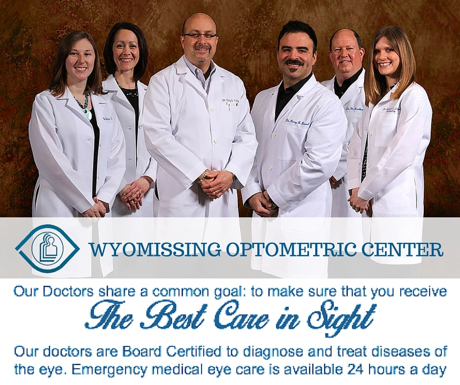 Wyomissing Optometric Center: 1050 Ben Franklin Hwy W, Douglassville, PA