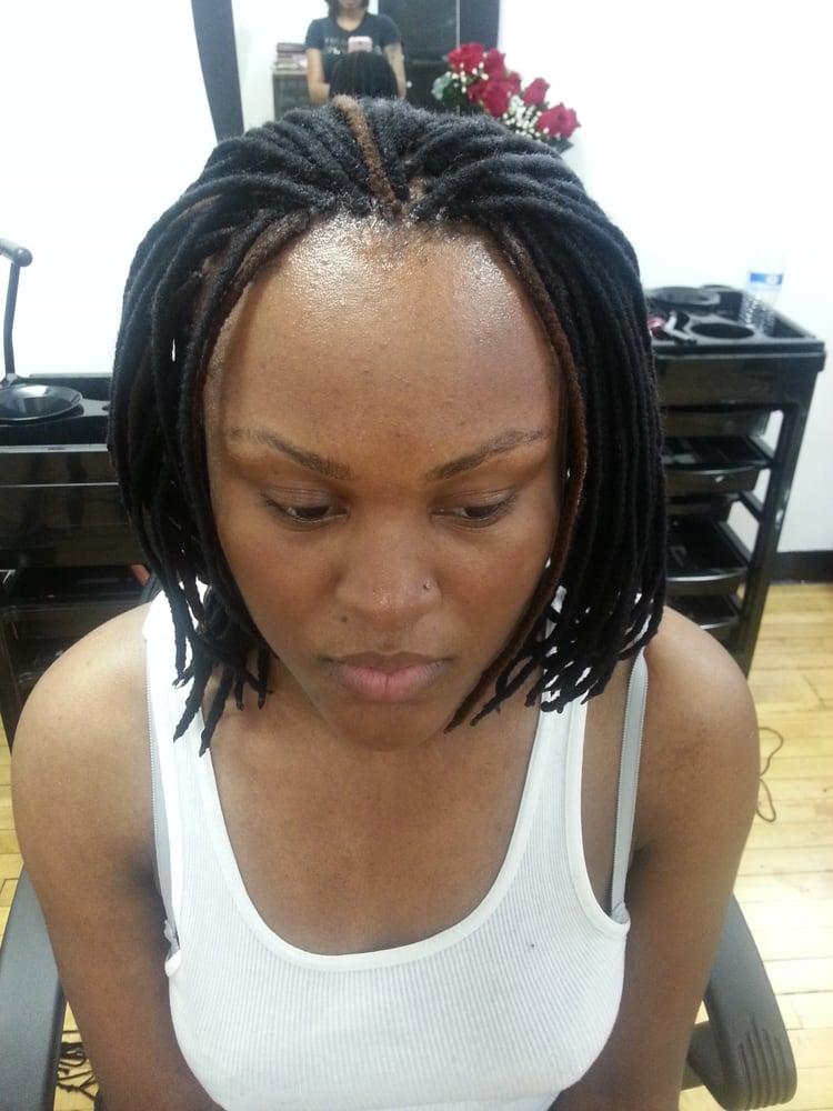 Crochet Hair Styles Chicago : Photo of Emmah Hair Braiding - Chicago, IL, United States. Yarn braids
