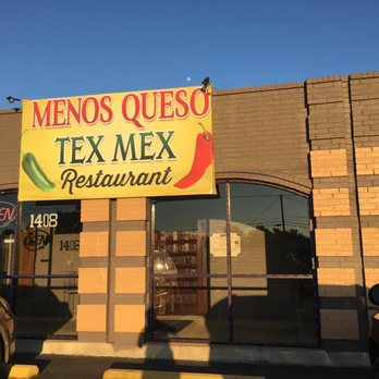 Photo Of Menos Queso Tex Mex Restaurant Athens Tx United States Front