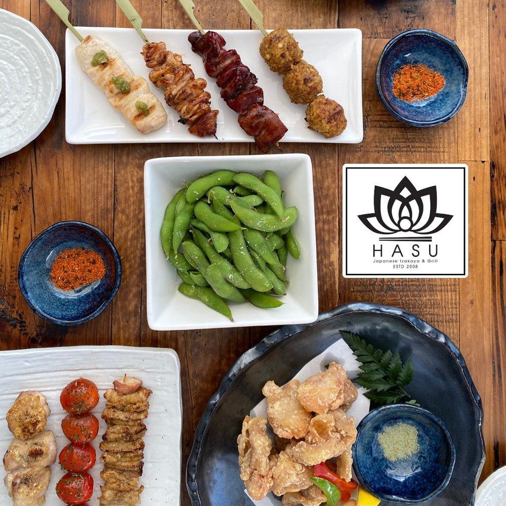 Hasu Japanese Izakaya & Grill: 2120 Artesia Blvd, Torrance, CA