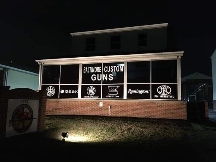 Baltimore Custom Guns: 7542 Holabird Ave, Dundalk, MD