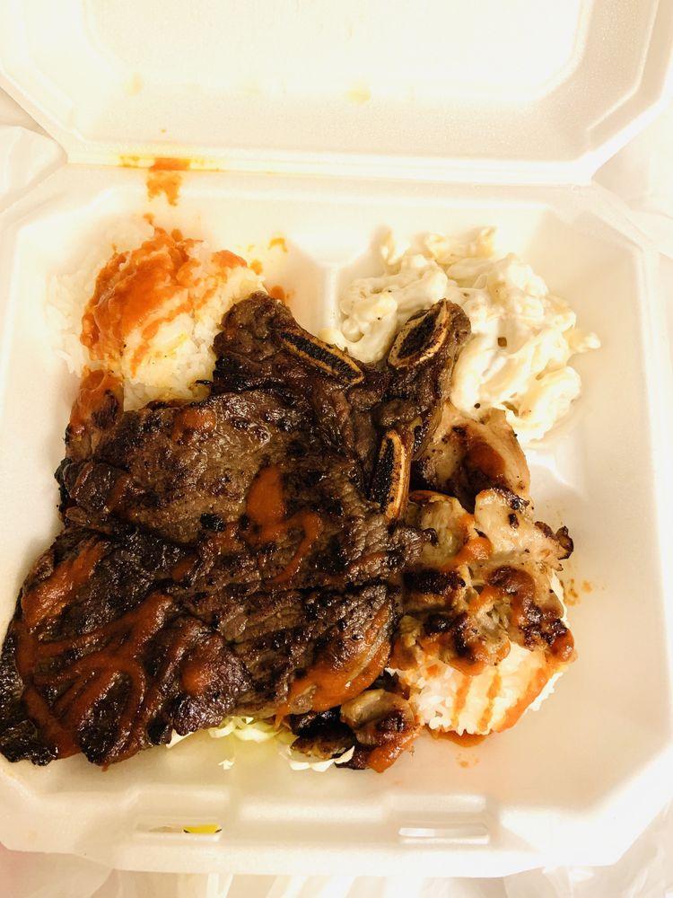 L&L Hawaiian BBQ: Jj Plz, Evans Mills, NY