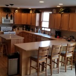 Savewood Kitchen Cabinet Refinishers Cabinetry 10059 Bode St Plainfield Il Phone Number Yelp