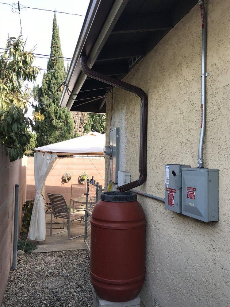 New Rain Gutters By Edgeline Rain Gutters Installed Today