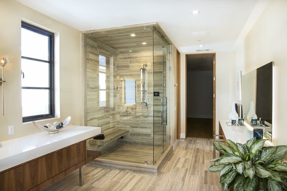 Multiple steam room and shower enclosures - Yelp