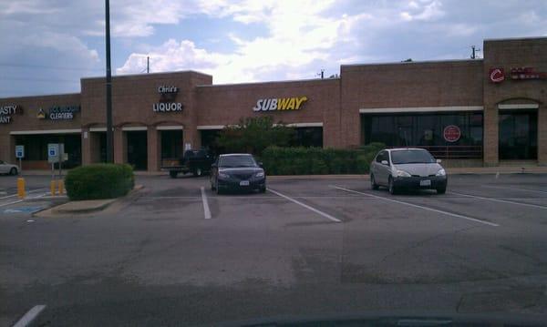 Subway fast food 2110 slaughter ln w cherry creek for Popeyes louisiana kitchen austin tx