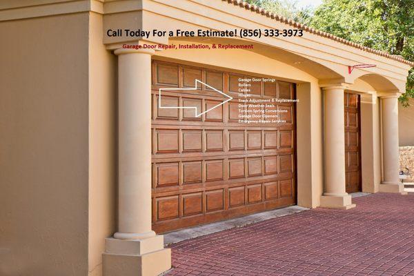 Ab Garage Door Repair Get Quote Garage Door Services Maple