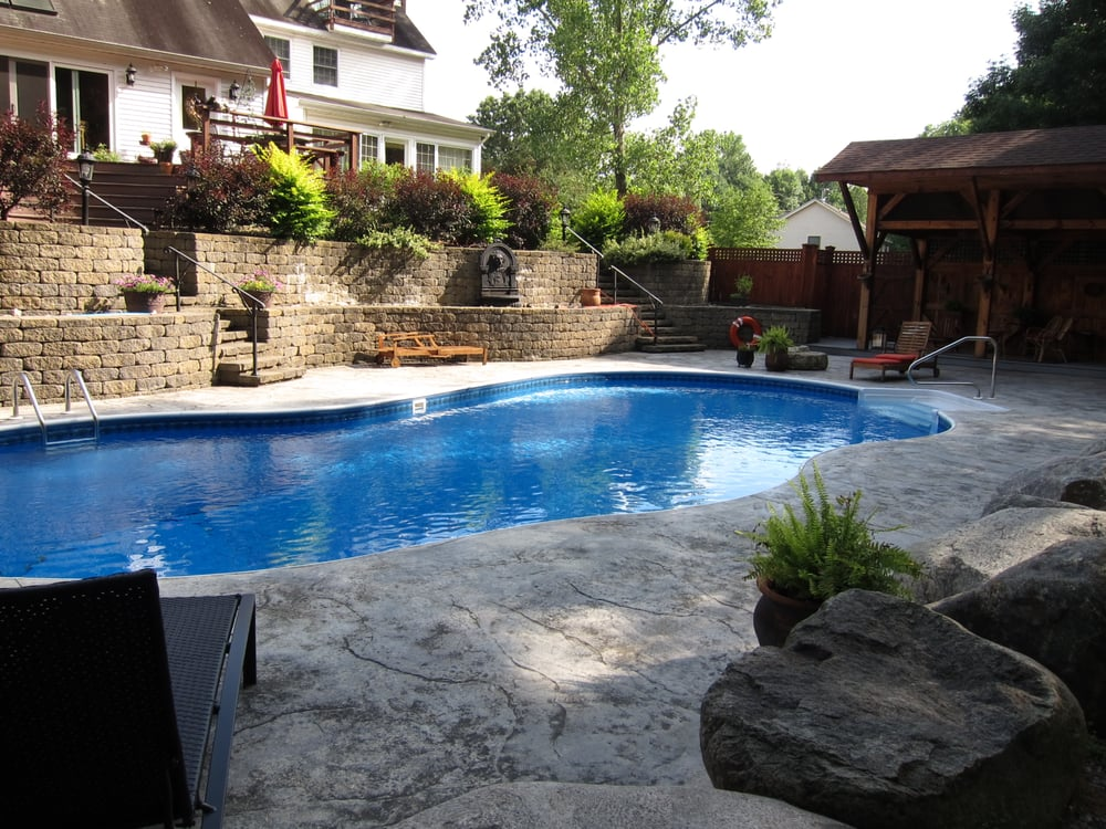 One Of Our First In Ground Pools Yelp