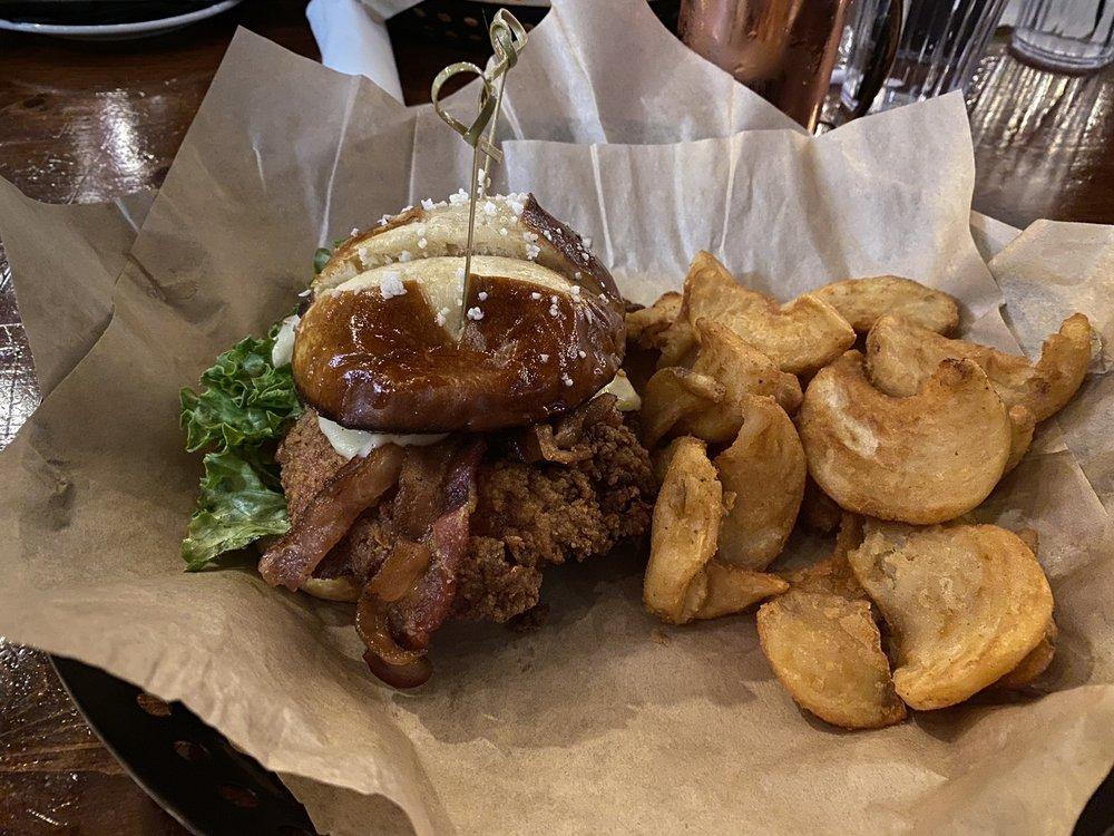 Food from Cin Cin Burger BAR