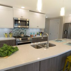 Photo Of Dream Kitchens   Nashua, NH, United States. Two Toned Gray And