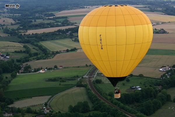 montgolfiere normandie calvados