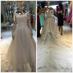 Photo Of Crystal Wedding Gown