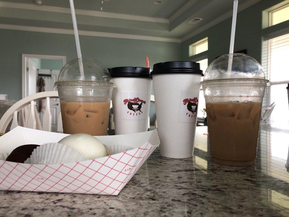 Third Coast Coffee: 1136 Hwy 87, Crystal Beach, TX