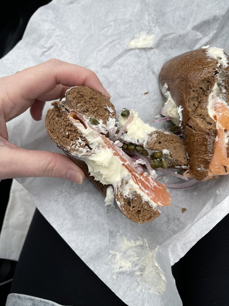 Whidbey Island Bagel Factory: 102 S 10th St, Mount Vernon, WA