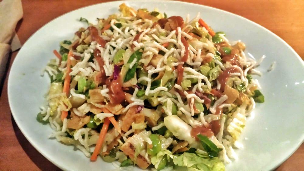 California Pizza Kitchen Thai Crunch Salad Half Wow Blog